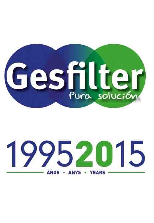 Gesfilter cumple 20 años