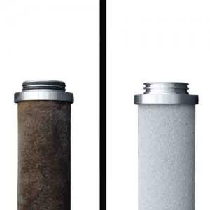 Regeneración filtros metálicos