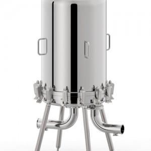 Carcasas filtros lenticulares para industria Alimentación y bebidas y cosmética