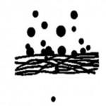 Retención de partículas filtros plegados