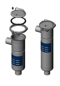 Carcasas filtros bolsa P3 y P4