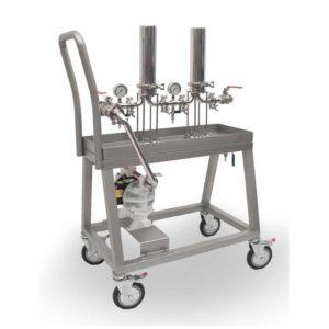 Equipos de filtración para filtros de cápsula XB-AB