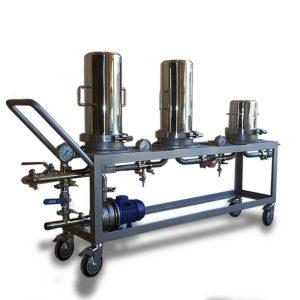 Equipos de filtración para filtros de cápsula XW-AW